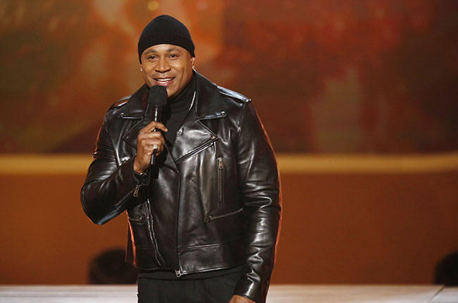 LL Cool J hosts A VERY GRAMMY CHRISTMAS to be broadcast Friday, Dec. 5 (9:00-10:00 PM, ET/PT) on the CBS Television Network Photo: Cliff Lipson/CBS ©2014 CBS Broadcasting, Inc. All Rights Reserved